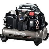 HiKOKI(旧日立工機) 釘打機用エアコンプレッサ タンク容量8L タンク内圧45気圧 高圧/一般圧対応 セキュリティ機能なし EC1245H3(TN)