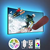 Govee TV LED Backlight, 10FT LED Lights for TV with App and Remote Control, Music Sync, DIY and Scene Modes, RGB Color Changi