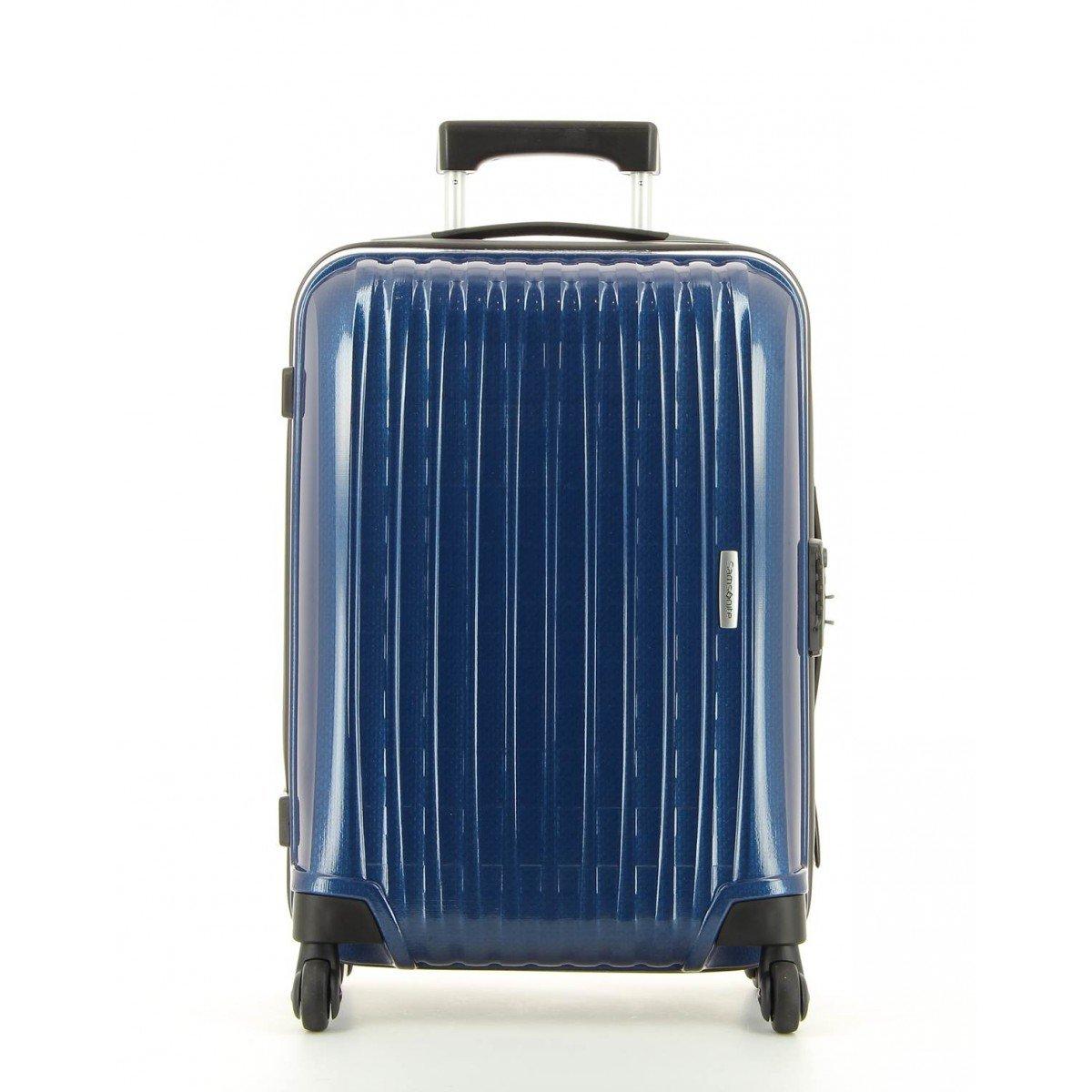 Samsonite Chronolite-Maleta cabina de pasajeros azul 55 cm: Amazon.es: Equipaje