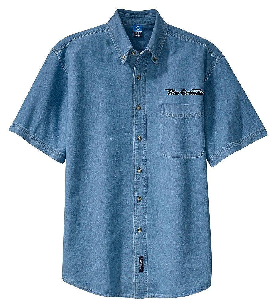Rio Grande Speed Lettering Short Sleeve Shirt White Adult 4XL den11SS