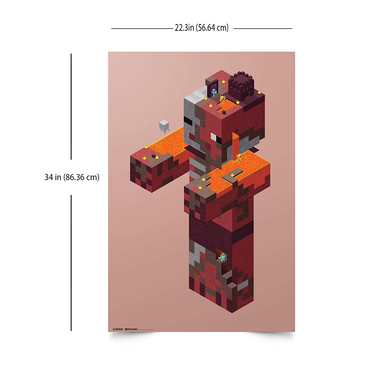 Entertainment Memorabilia JINX MOJANG MINECRAFT ZOMBIE PIG MAN