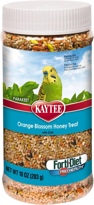 Kaytee Forti Diet Pro Health Orange Blossom Honey Treat for Parakeets