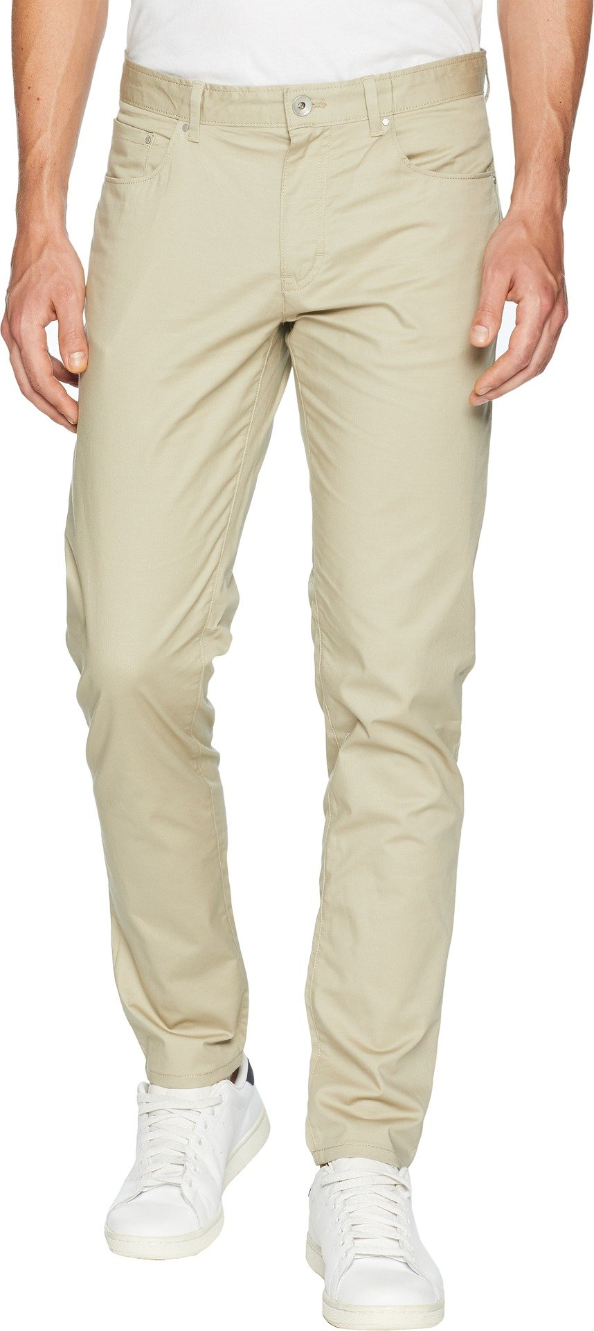 Calvin Klein Men's 5 Pocket Stretch Pant, Marble Canyon, 34W X 34L