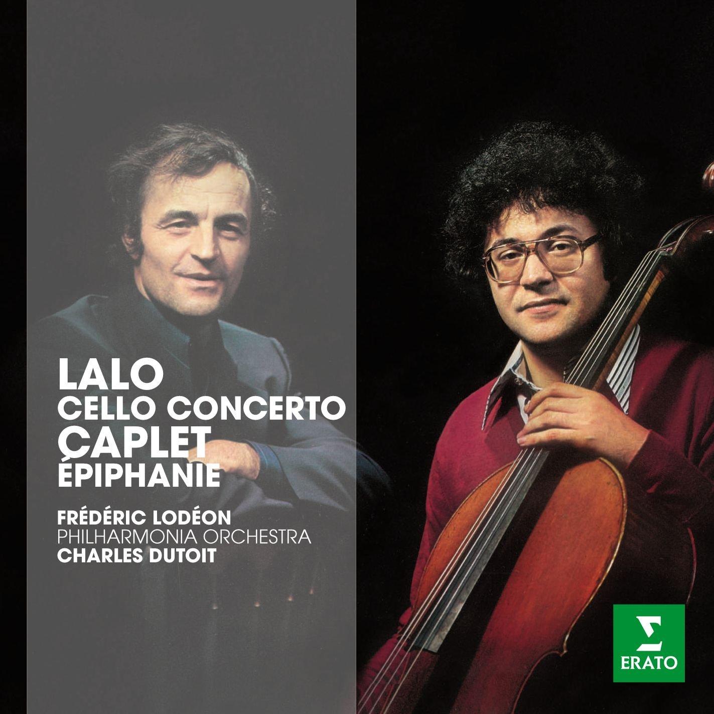 CD : Lalo - Erato Story - Cello Con / Epiphanie (CD)
