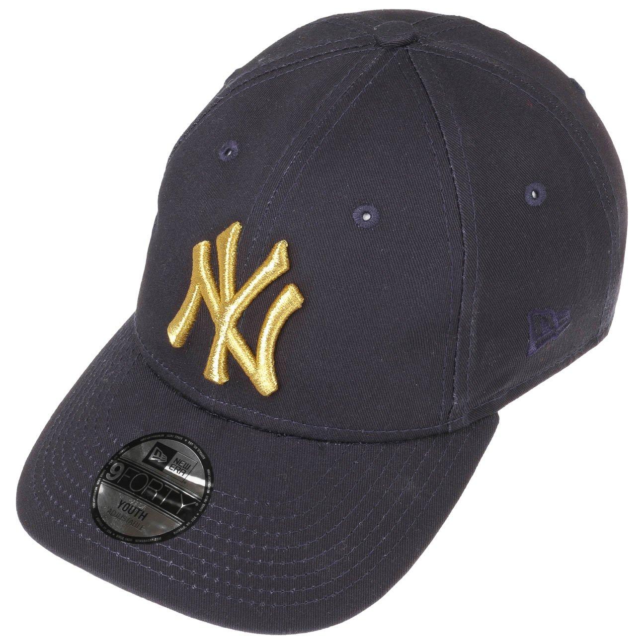 Cappellino 9Forty Junior Golden NY New Era cappellino baseball cap Child  (50-53 cm) - blu scuro  Amazon.it  Abbigliamento 606705392aff