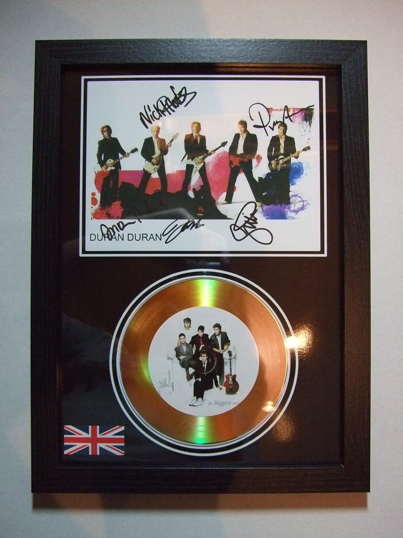 duran duran signed gold disc home disc