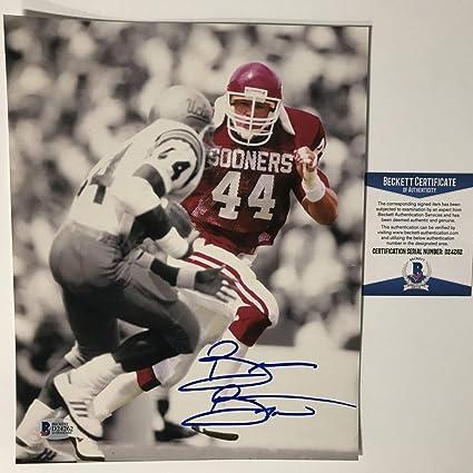 f4e72a20544 Autographed Signed Brian Bosworth Oklahoma Sooners 8x10 College Football  Photo Beckett BAS COA
