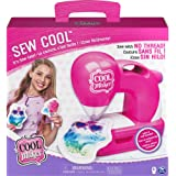 Cool Maker - Sew Cool Sewing Machine with Fabric & Fluff Included. Ages 6 and up