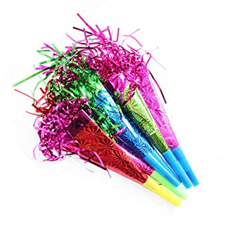 Confezione da 6festa trombette, per rendere il vostro colorato vivace