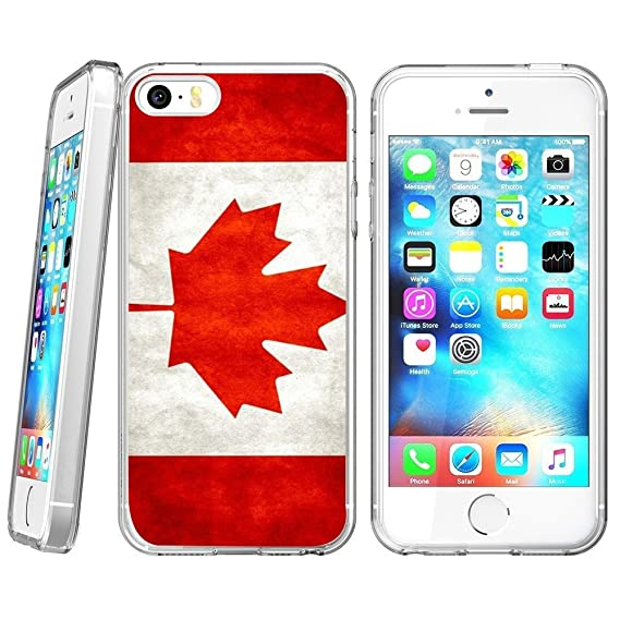671e8060c72 Image Unavailable. Image not available for. Color  Canadian flag iPhone 5s  5 SE Case ...
