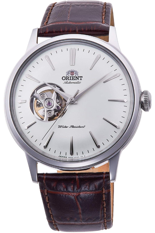 Orient Reloj Analógico para Hombre de Automático con Correa en Cuero RA-AG0002S10B: Amazon.es: Relojes