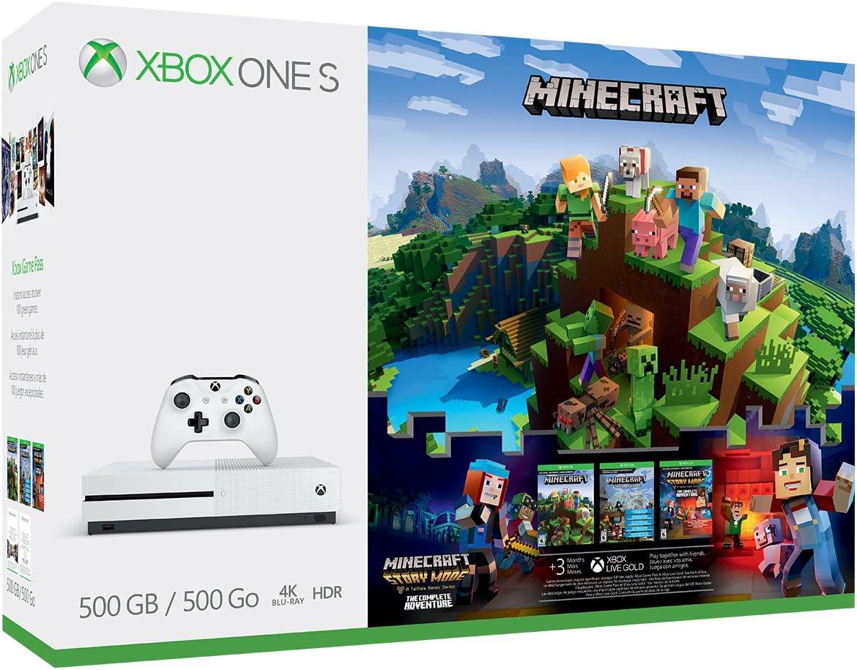 Console Xbox One S 9 GB – Conjunto completo de aventura