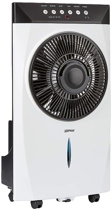 Ventilatore Ad Acqua Nebulizzata.Zephir Zst31cm Ventilatore Nebulizzatore Con Funzione Nebulizzante Ad Acqua Pannello Di Controllo Elettronico E Telecomando