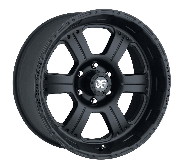 Pro Comp Alloys Series 89 Wheel with Flat Black Finish (17x8'/5x127mm) Pro Comp Wheels PXA7089-7873