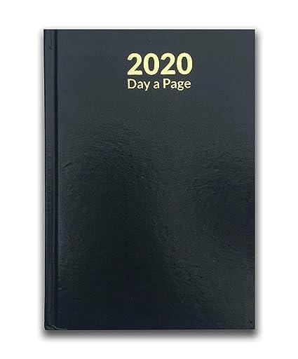 Agenda de 2020, tamaño A5, tapa dura, tapa dura ...