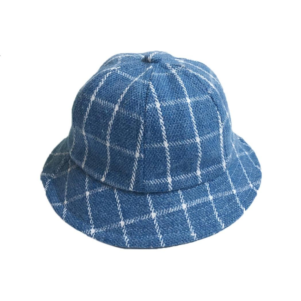 cyctechベビー子供ラティスバケットスタイルキャップ太陽帽子  ブルー B075KMCBQM