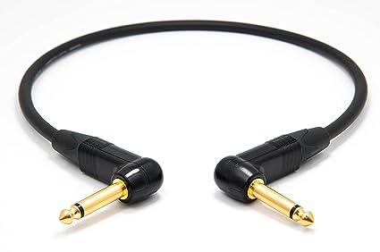 Mogami 2524 Patch Cable | Neutrik Gold 6,3mm TS | HiFi 100 cm