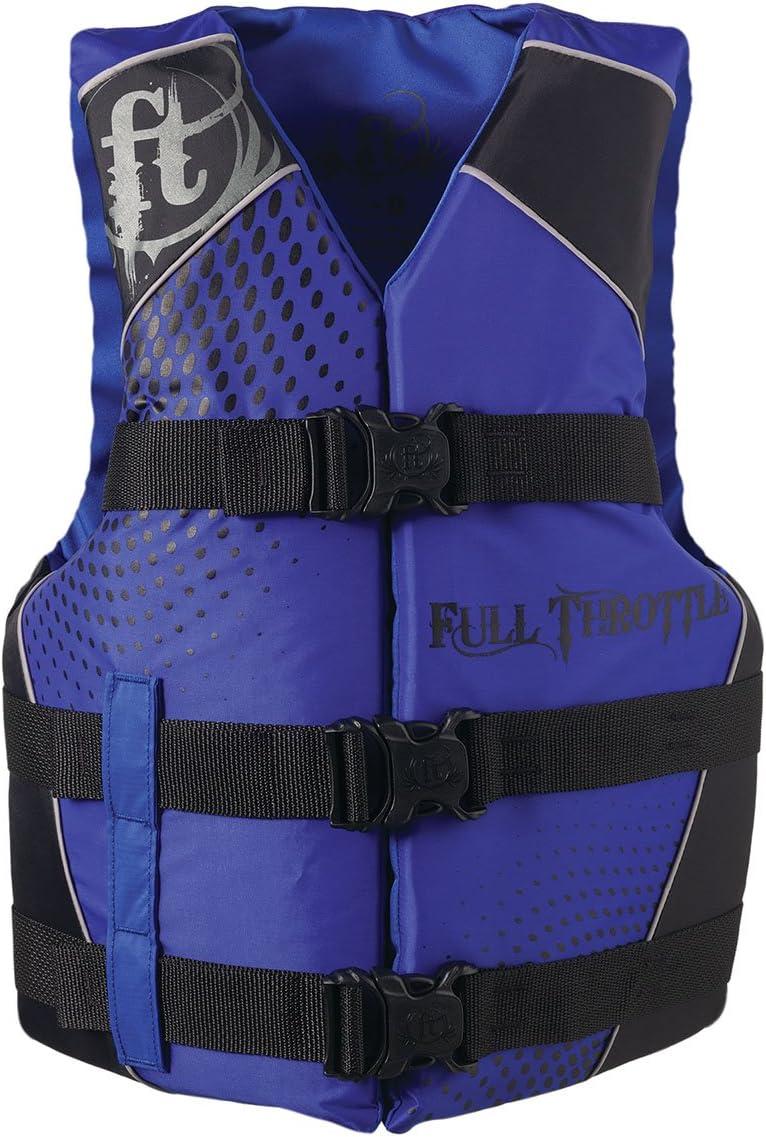 Full Throttle Teen Dual-Sized Nylon Water Sports Vest