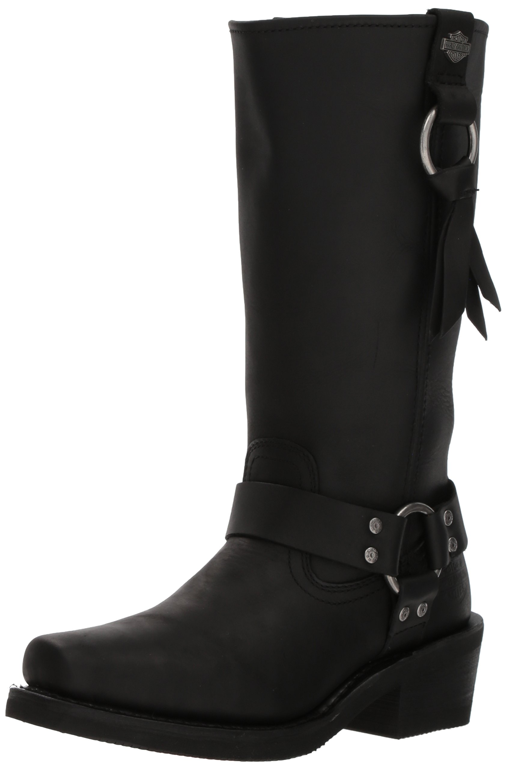 Harley-Davidson Women's Fenmore Motorcycle Boot, Black, 5 Medium US