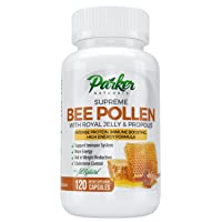 Best Bee Pollen, Royal Jelly and Propolis by Parker Naturals - Highest Quality Made...
