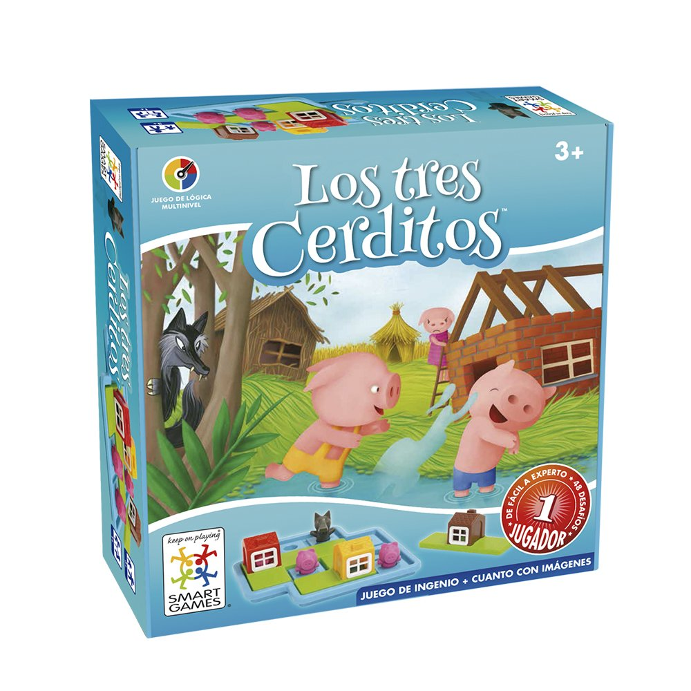Smart Games drei Schweinchen, Lernspiel lú dilo SG019 Lúdilo SG019ES