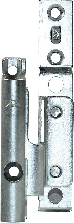1118 18//9 R Roto Eckwinkel//Ecklager 90x95mm DIN Rechts Aufnahme: 737389