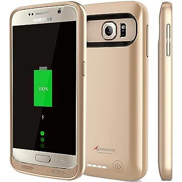 Alpatronix Galaxy S6 batería caja BX410 nachlad Bare avanzadas – Carcasa cargador batería externa/Carcasa/Cargador móvil para Samsung galaxia S6 – ...