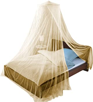 MOSQUITO NET by Just Relax, Elegant Bed Canopy Set Including Full Hanging Kit, Ideal For Indoors or Outdoors, Intended For a Perfect Fit for Covering Beds,...