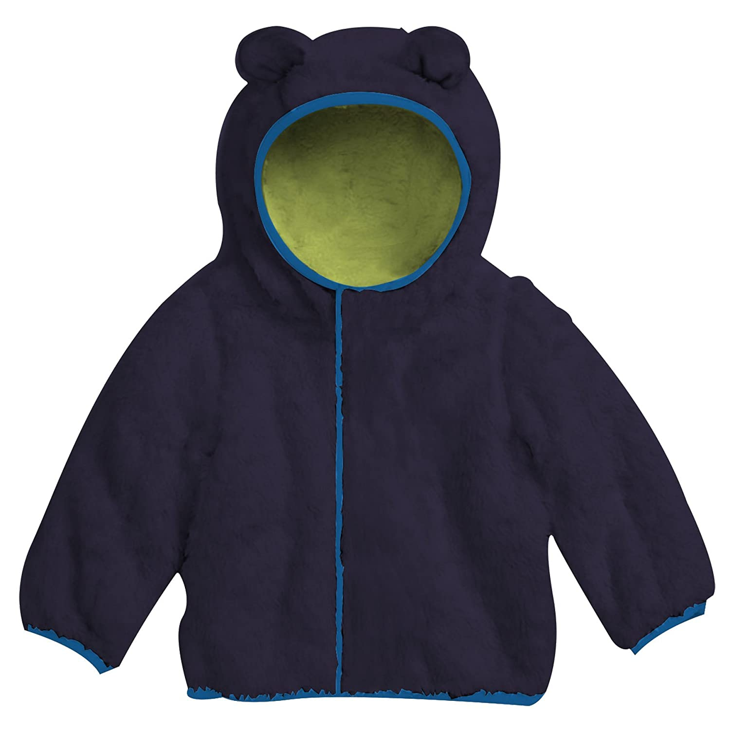 Magnificent Baby Magnetic Me Baby Bear Fleece Magnetic Hooded Jacket 5003