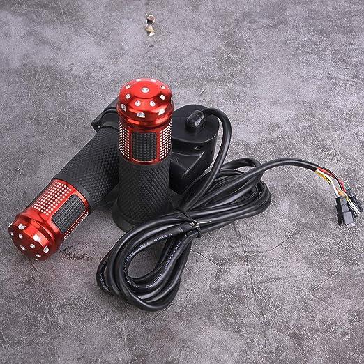 1 par Puño Acelerador Manual con Pantalla LED 12 a 99V para ...