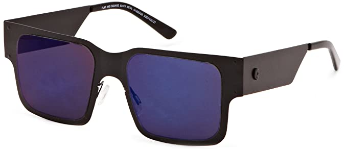 4984ad2d5a9ca Cheap Monday Flat and Square Square Frame Sunglasses Black Metal One Size