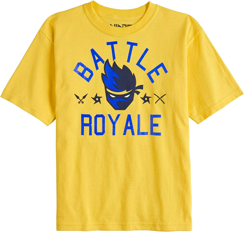 Team Ninja Shirt Youtube NinjasHyper Battle Royale Puff Head Boys T-Shirt