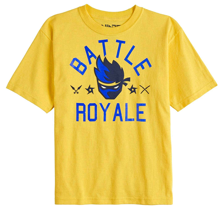 5dfd788d8c2 Amazon.com  Team Ninja Shirt YouTube NinjasHyper Battle Royale Puff Head  Boys T-Shirt  Clothing