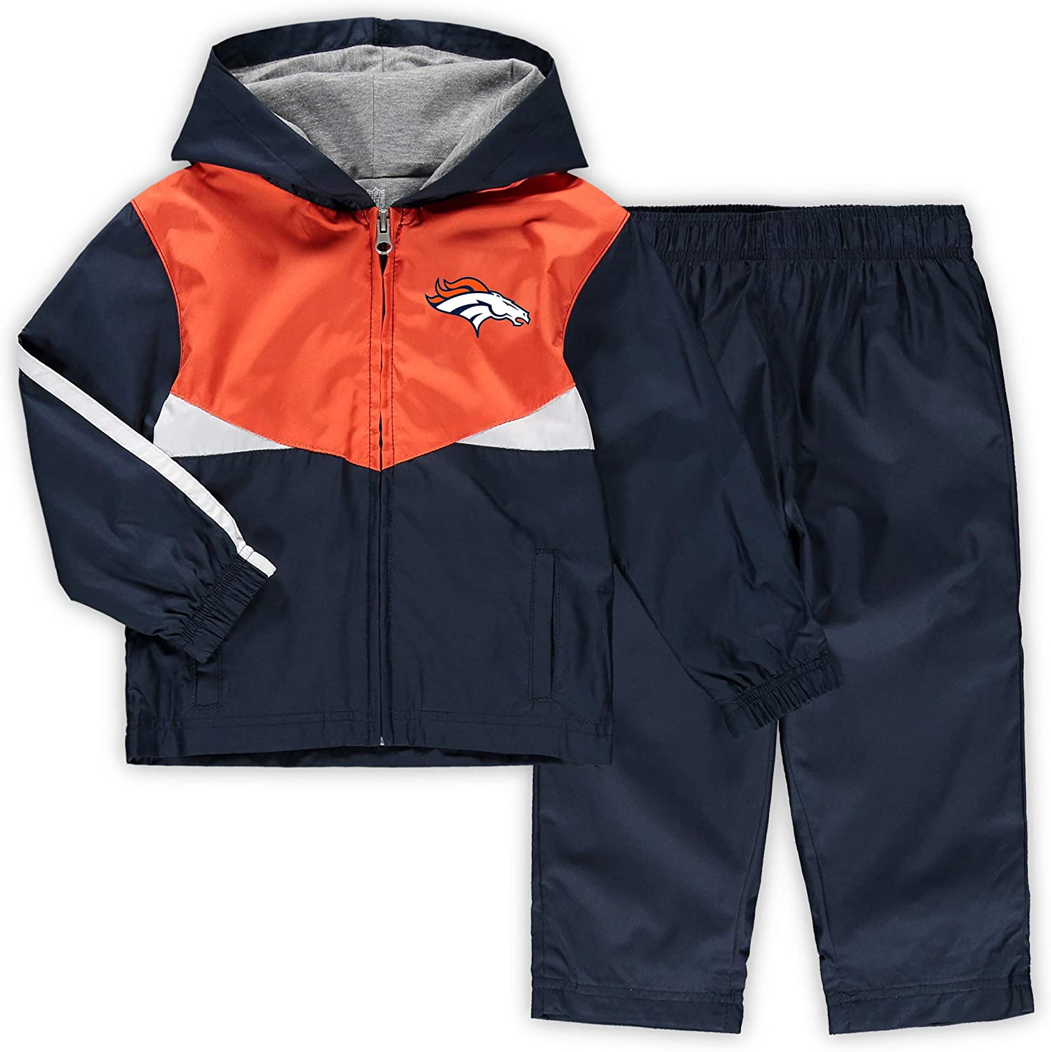 OuterStuff NFL Toddler Full Zip Jackets and Pants Wind Suit 2 Piece Set