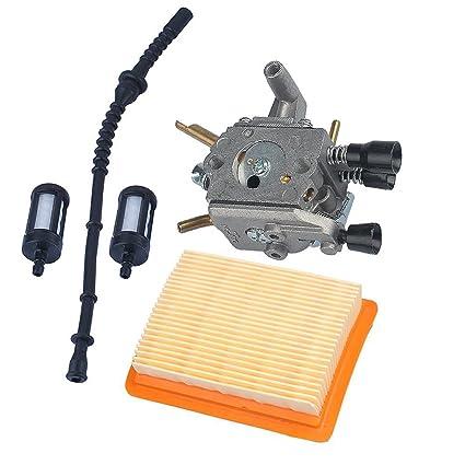 JL JIANGLI LEGEND Nuevo carburador + Filtro de Aire + línea/Filtro ...