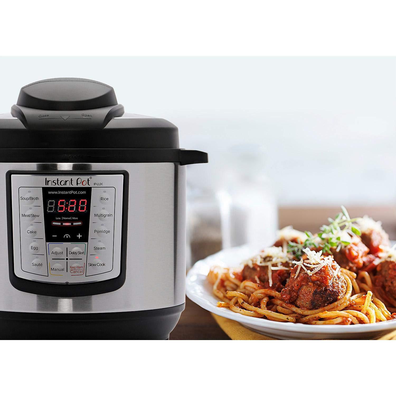 Instant Pot Lux 8-Quart 6-1 Multi-Use Programmable Pressure Cooker ...