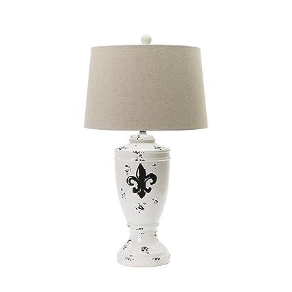 Fangio Lighting 8782shabby Fluer Traditional Ceramic Table