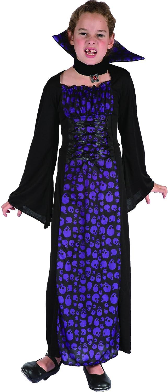 Vegaoo - Disfraz vampiresa Violeta niña - M 7-9 años (120-130 cm ...