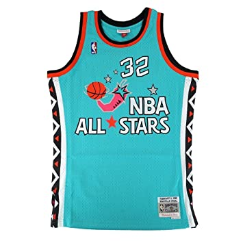 b0bcca709 Shaquille O Neal Magic Mitchell   Ness NBA 1996 All Star East Swingman  Jersey  Amazon.co.uk  Sports   Outdoors
