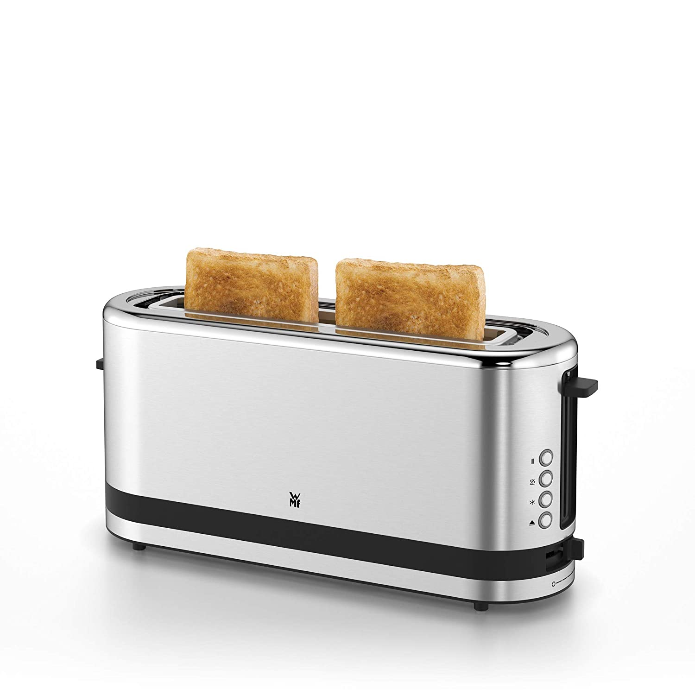 WMF Küchenminis Tostadora 900 W, Cromargan Acero Inoxidable 18/10, Plateado: Amazon.es: Hogar