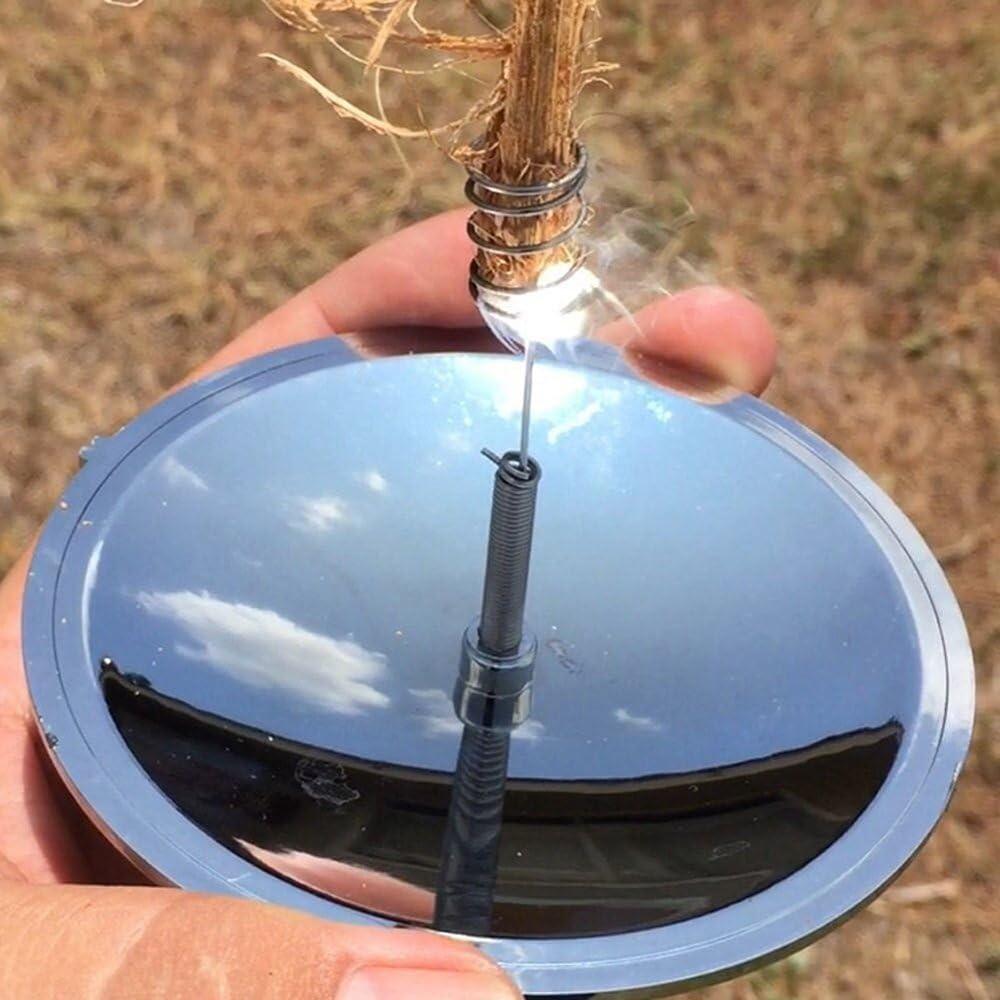 Outdoor Camping Solar Spark Lighter Fire Starter Emergency Survival Fire Kit