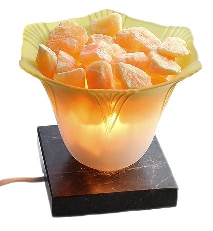budawi - Lámpara de mesa de Calcita de naranjas, Naranjas y ...