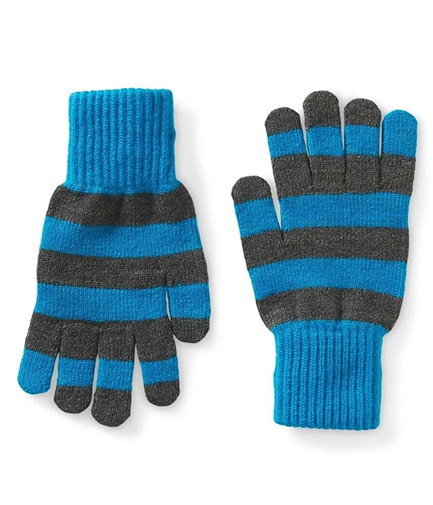 Aeropostale Mens Stripe Tech Gloves