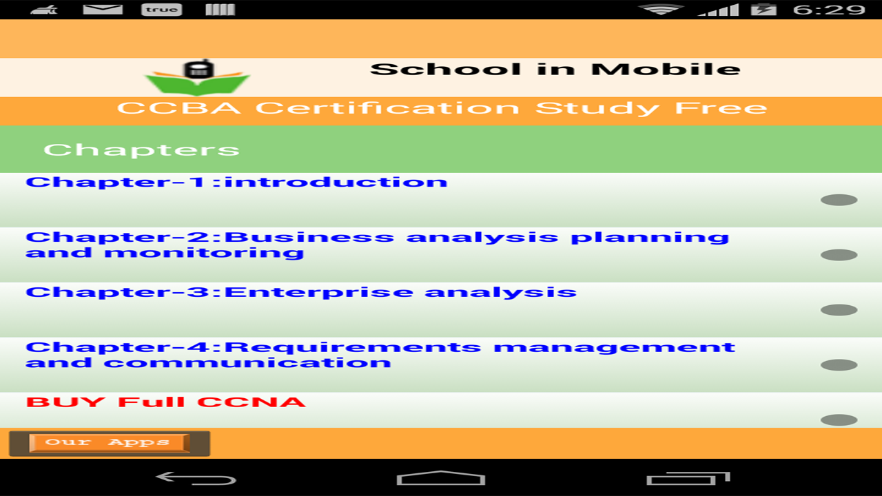 ccba certification study amazonca appstore for android