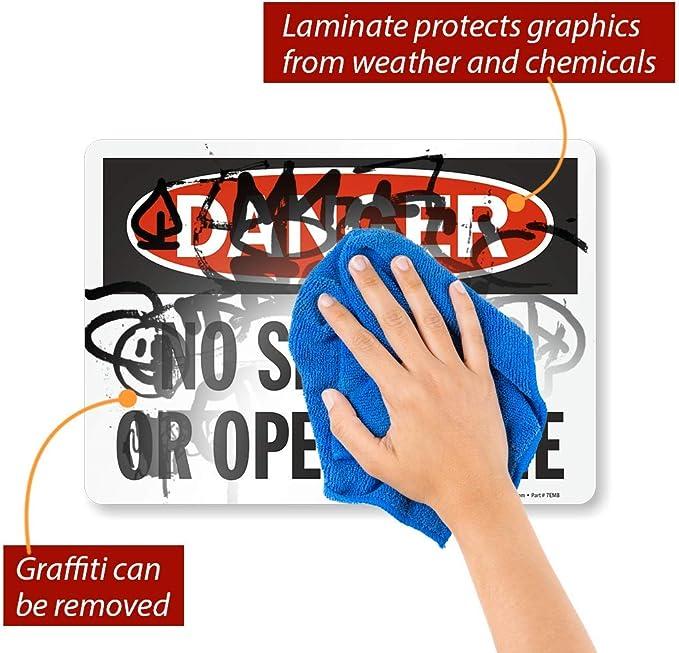 Gas Comprimido 2 advertencia vehículo Etiqueta Grande Sticker Decal Gráfico Etiqueta De Vinilo
