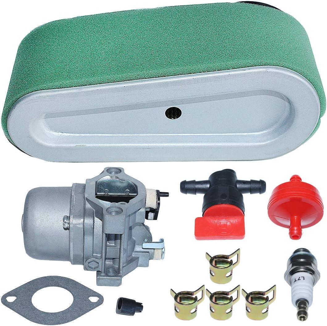 AUMEL Carburetor Air Filter Kit Fit Briggs Stratton 498027 498231 799728 496894 493909 499161 494502 494392 495706 498134 496592 282707 283702 283707 284707 284777 285707 286702 286707 Parts.