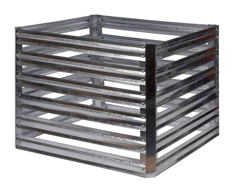 Gartenpirat Compostador (93 x 93 x 70 cm, Metal galvanizado, 550 L ...