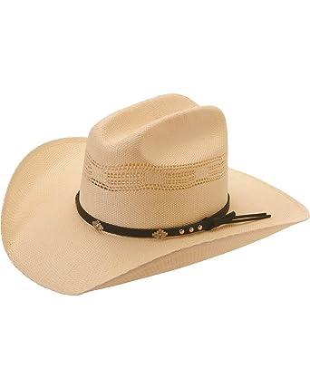 58d9509fe9115e Silverado Men's Colorado Bangora Straw Cowboy Hat - Colorado at Amazon  Men's Clothing store: Cowboy Hats