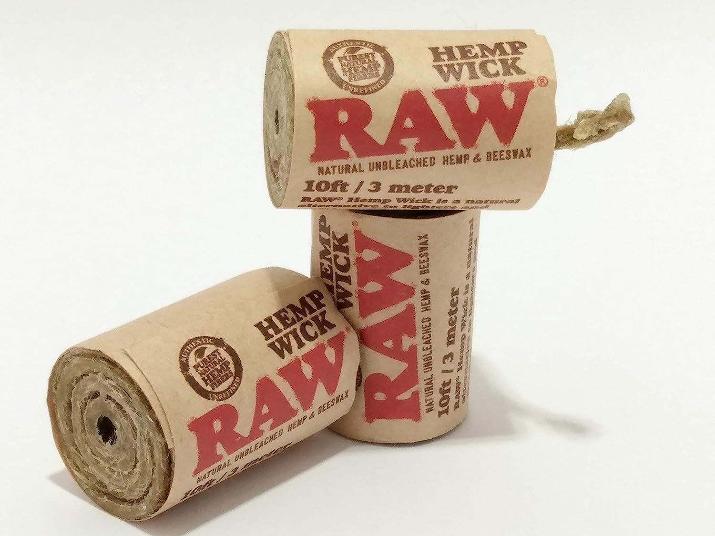 Hemp canapa 10 x 6 metri stoppino Raw 18808 10 x Wick 20
