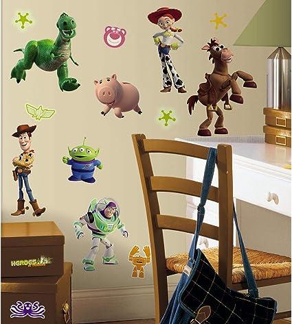 Toy Story Wall Decal 3D Art Stickers Vinyl Room Bedroom Mural Kids Nursery Gift
